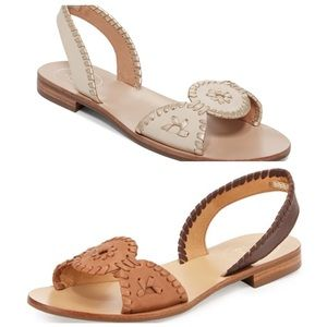Two Pairs of Jack Rogers Liliana Sandals