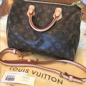 Authentic Louis Vuitton Speedy 30, Like New