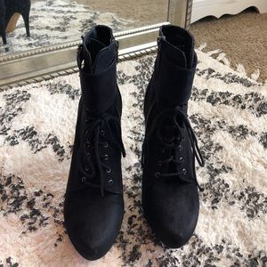 ALDO Lace Up Ankle Boots