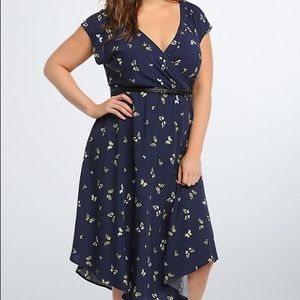 Plus size dress from torrid. Never worn