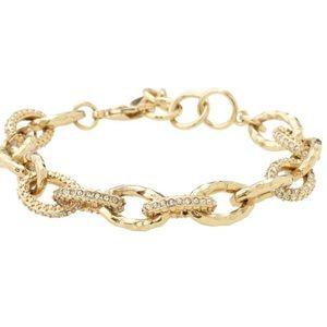 Stella and dot Christina link bracelet