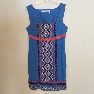 Anthro Embroidered Crochet Chelsea & Violet Dress