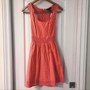 Sundress with lace details