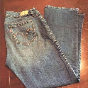 Levi's 529 curvy fit jeans