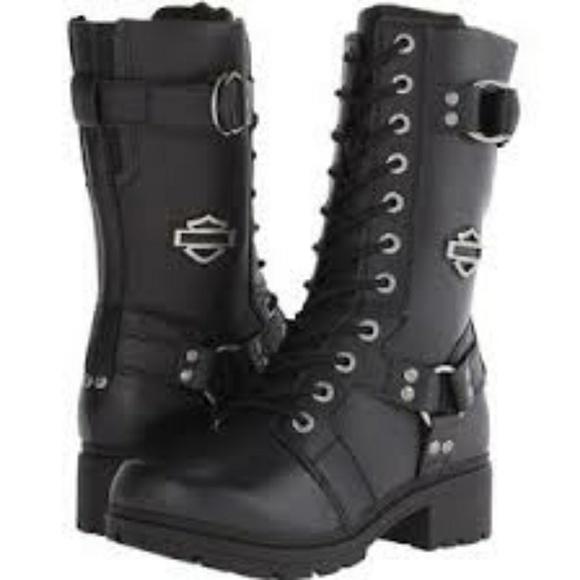 06fbd7808ee5 Harley-Davidson Shoes - Harley Davidson Eda Boots