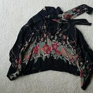Tops - Vintage cape shirt