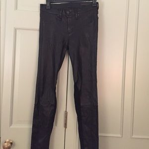 Rag & Bone leather pant