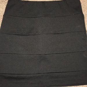 Poetry Clothing Black Mini Skirt