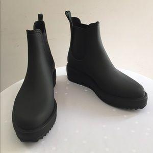 🆕 Jeffrey Campbell Chelsea Hydro Rainboots Sz 7