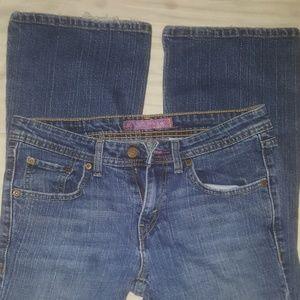 Women's Levis 518 Size 7