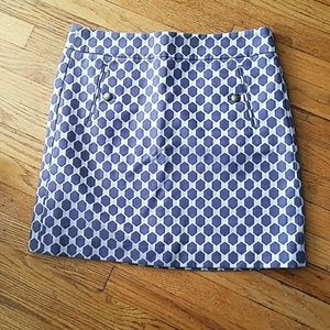Loft geometrical skirt
