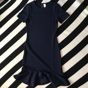 H&M Divided Navy Dress