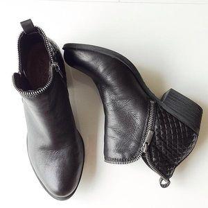 Lucky Brand 'Bartalino' Black Booties