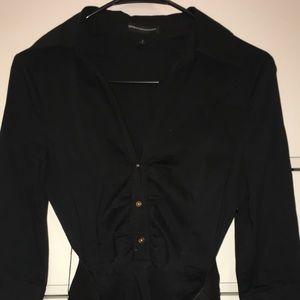 Express Design Studio Black Dress with Belt