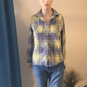 American Eagle Women's Flannel Shirt