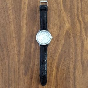 GUESS Women's Watch with Accent Crystals