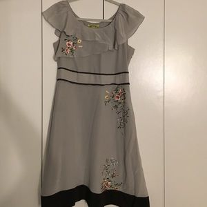 Floreat Floral Dress by Anthropologie