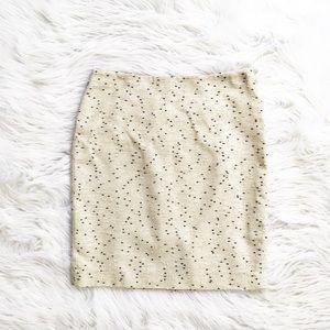 Talbots lightweight tweed pencil skirt