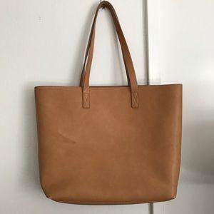 Caramel brown Tote bag