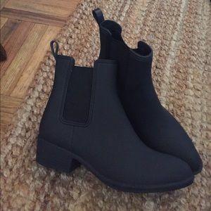 Jeffrey Campbell Matte Rain Boots