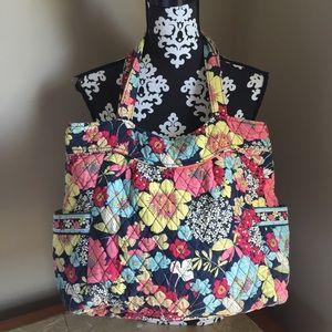Vera Bradley purse shoulder bag diaper bag large