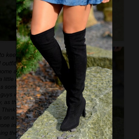 e4a6c4fc372 Unisa over the knee boots