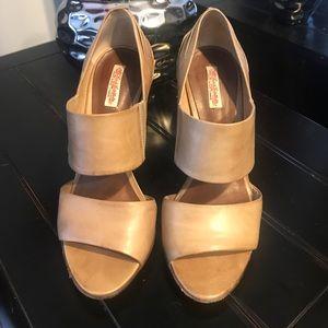 All Saints beige shoes