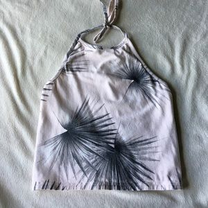 Reversible Halter Crop Top