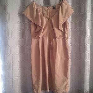H&M tan dress.