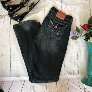 Lucky Brand women's size 8/29 dark blue Jeans