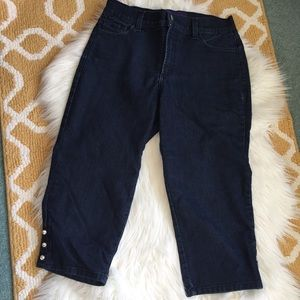 not your daughters jeans capris size 10