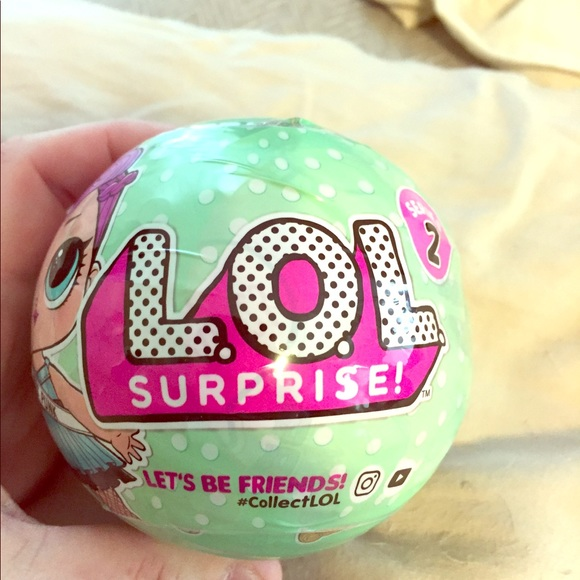Lol Surprise Other Ball Wbonus Charm Fizz Series 2 Poshmark