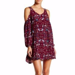 Romeo & Juliet Couture Shoulder Cutout Dress