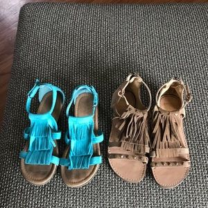 Other - Girls  sandals Dolce Vita and B.O.C. Size 3
