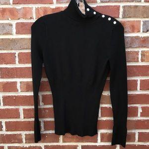 White House Black Market Turtleneck Sweater S
