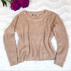 Jennifer Lopez Chunky Knit Sweater