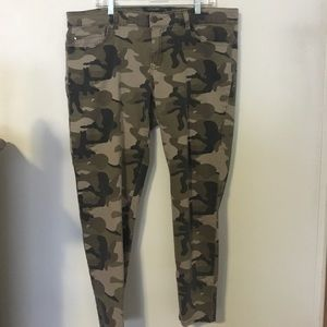 F21 Plus Camo Skinny Jeans