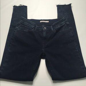 Levi's 535 Super Skinny Jeans with Raw Hem