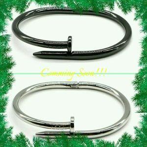 Unisex nail bracelet comming Soon !! Titanium