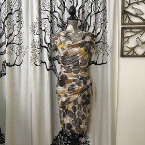 NWOT Anthropologie Weston Wear Soft Ruched Dress