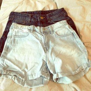Pants - Denim shorts bundle! From h&m
