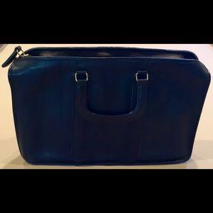 Vintage Coach Authentic Black Briefcase