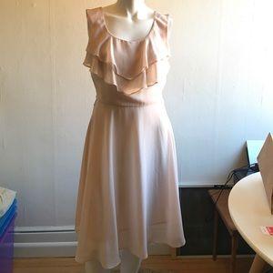 H&M ruffle sleeveless dress