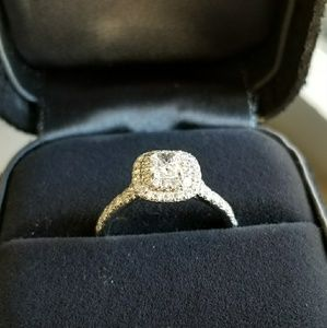 Tiffany & Co Soleste engagement ring
