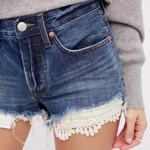 NWOT Free People Daisy Chain Shorts