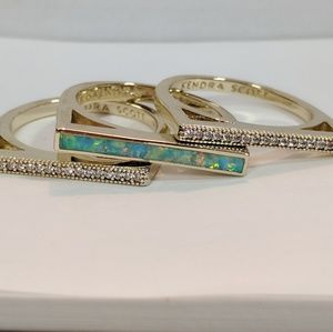 Kendra Scott Lucia stacking rings
