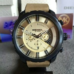 New Diesel Taupe dial chronograph watch