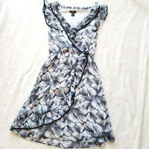 H&M Floral Ruffle Dress!!
