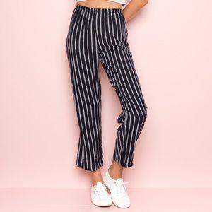 Brandy Melville Striped Frankie pants