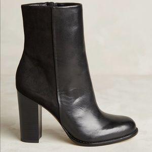 Sam Edelman Sz 8 Reyes black ankle boots